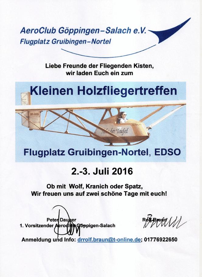 Holzfliegertreffen 2016