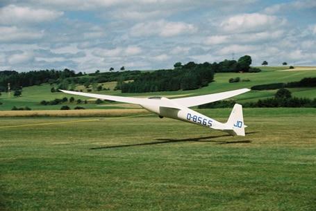Ka6 E Rhönsegler D-8565 (Bj.1966)